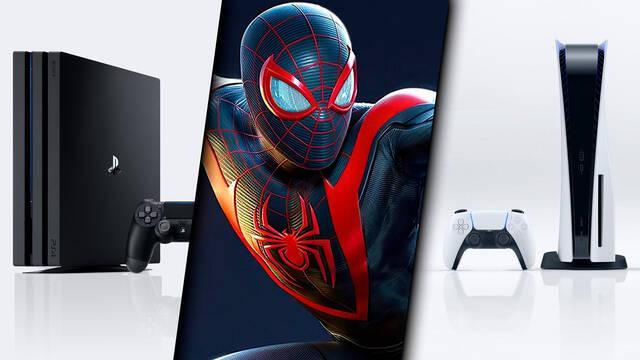 Spider-Man: Miles Morales partida compatible PS5 y PS4