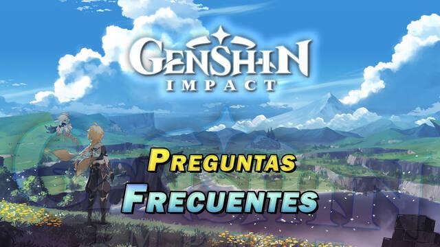Preguntas frecuentes en Genshin Impact