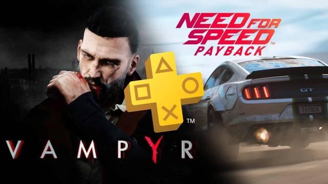 Juegos gratis de PS Plus en octubre de 2020.