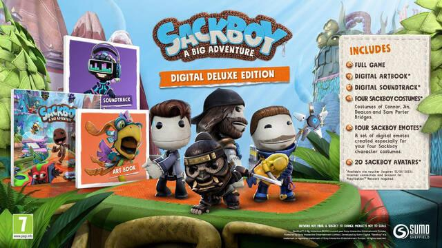 Sackboy PS4 PS5 precio ediciones