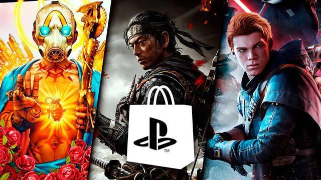PS Store ofertas PS4 juegos generación Ghost of Tsushima rebajas