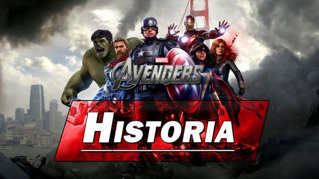 Historia al 100% en Marvel's Avengers