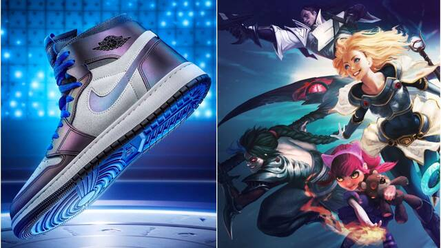 League of Legends y Air Jordan 1