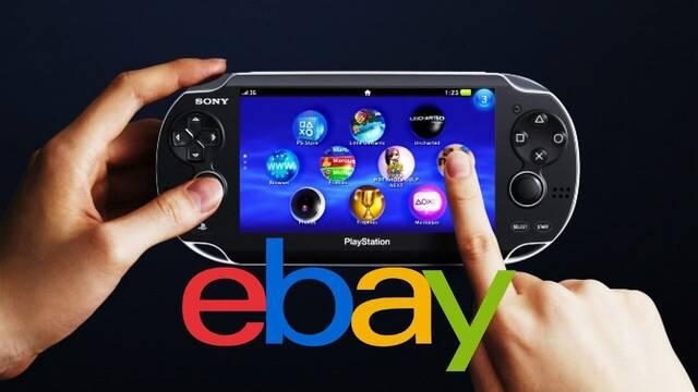 PS Vita en eBay Japón