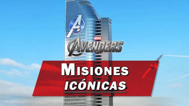 TODAS las misiones icónicas en Marvel's Avengers: cómo desbloquearlas y recompensas