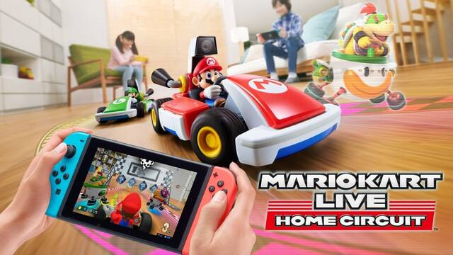 Mario Kart Live: Home Circuit llegará a Switch el 16 de octubre.