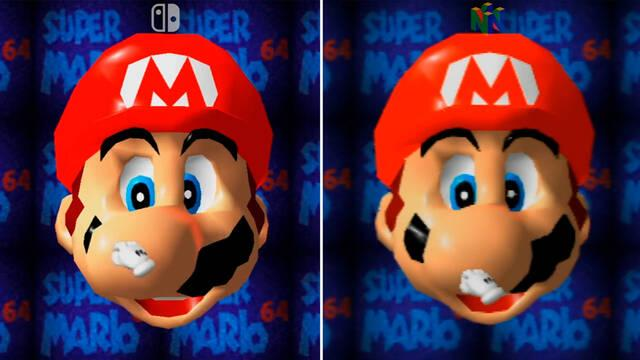 Super Mario 3D All-Stars comparación originales Nintendo