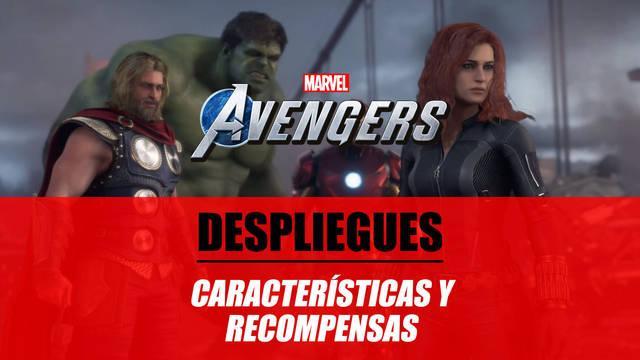 Despliegues en Marvel's Avengers: qué son y recompensas