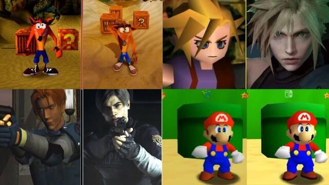 Debate sobre los gráficos de los juegos incluidos en Super Mario 3D All-Stars.