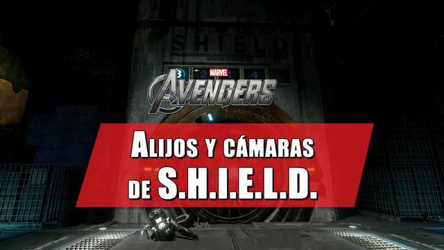 Alijos y cámaras de S.H.I.E.L.D. en Marvel's Avengers: cómo encontrarlos