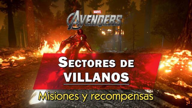 Sectores de villanos en Marvel's Avengers: qué son y recompensas