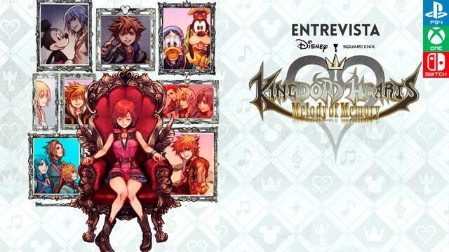 Entrevista Kingdom Hearts: Melody of Memory