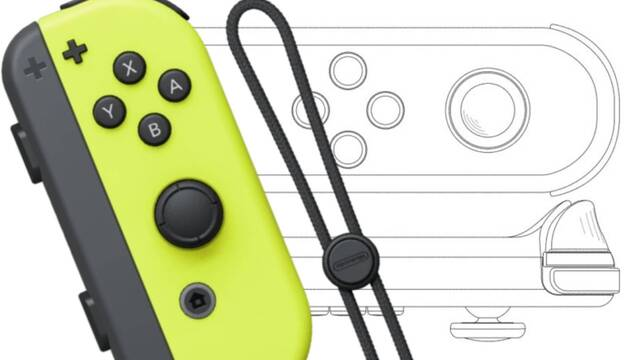 Nueva patente de Joy-Con individual para Nintendo Switch.