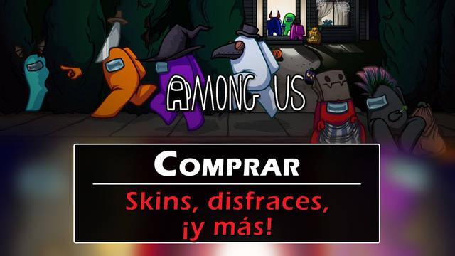 Among Us - Todas las Skins: disfraces, sombreros y mascotas