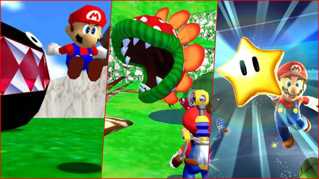 Super Mario 3D All-Stars Switch Gameplay