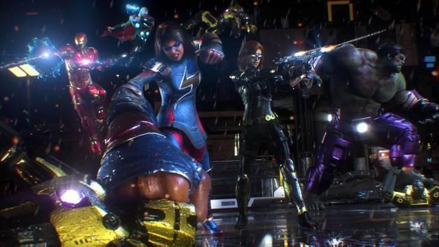 Iniciativa Avengers al 100% en Marvel's Avengers
