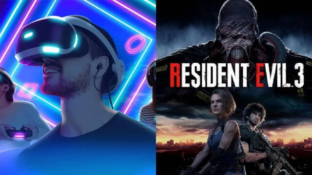 Ofertas PS4 PS VR y Resident Evil 3