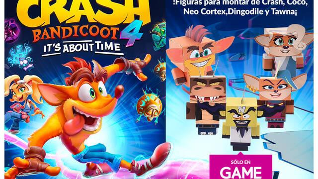 Reservas Crash 4 en GAME