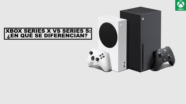 Xbox Series X vs Series S: cuál comprar y diferencias