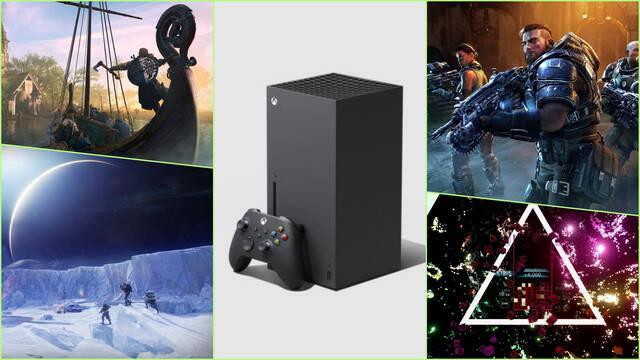 Xbox SEries X S juegos lanzamiento