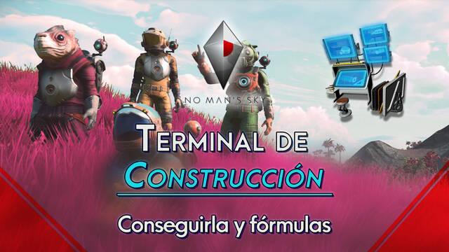 No Man's Sky: Terminal de Construcción, cómo conseguirla y fórmulas