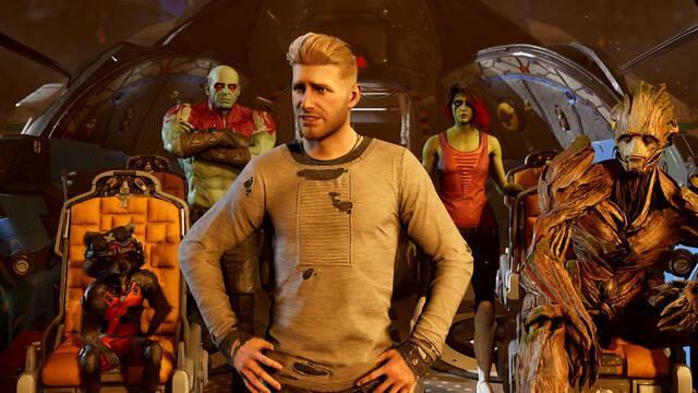 Marvel's Guardians of the Galaxy tráiler historia