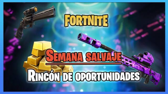 Fortnite - Semana Salvaje Rincón de oportunidades: Fechas y detalles