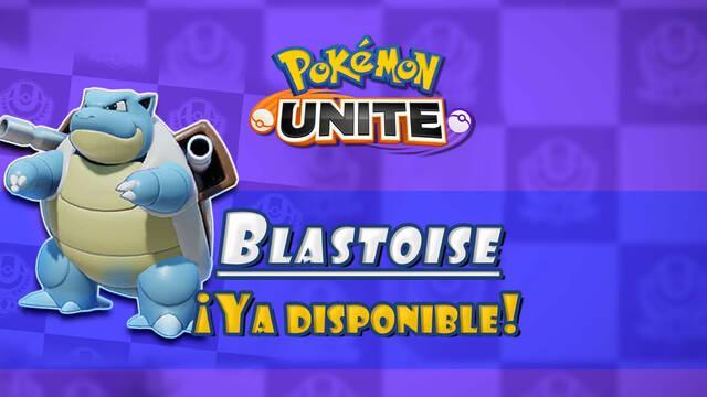 Pokémon Unite: Blastoise - habilidades y ataques