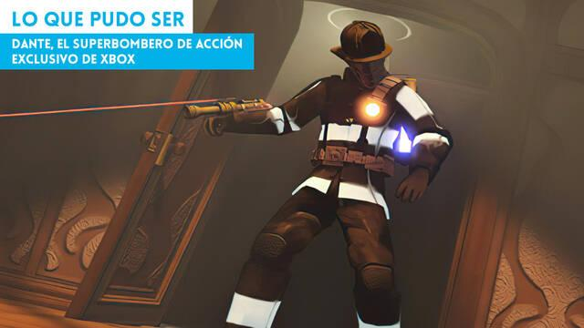 Dante, el superbombero de acción exclusivo de Xbox