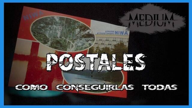 TODAS las postales en The Medium y cómo conseguirlas