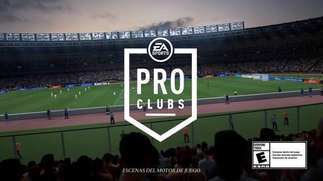 FIFA 22 Clubes Pro tráiler y novedades