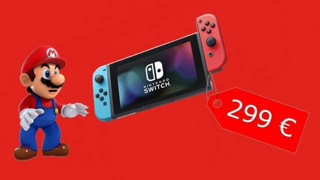 Nintendo Switch rebaja su precio a 299 euros