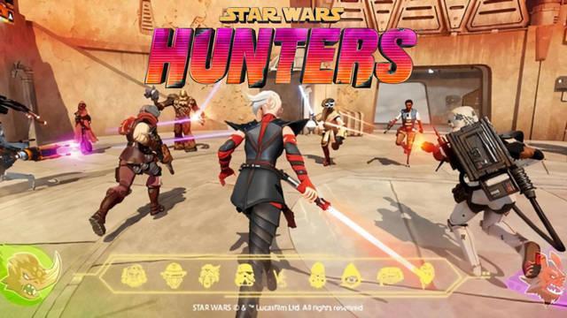 Star Wars: Hunters, el título gratuito para Switch y móviles, se muestra en nuevas capturas