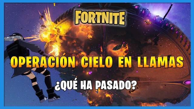 Fortnite Battle Royale - Operación Cielo en llamas