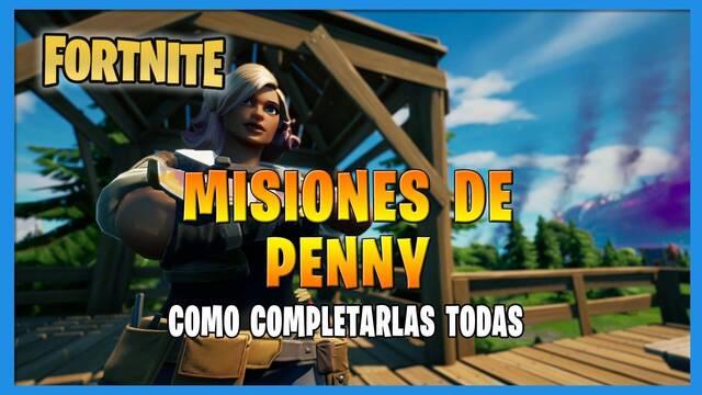 Fortnite T8: TODAS las misiones de  Penny y cómo completarlas