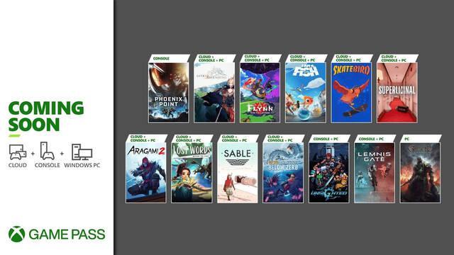 Nuevos juegos de septiembre en Xbox Game Pass.