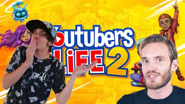 Youtubers Life 2 con youtubers reales