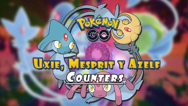 Pokémon GO: Cómo vencer a Uxie, Mesprit y Azelf - Mejores Counters