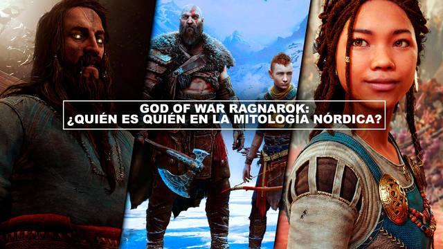 God of War Ragnarok: ¿Quién es quién en la mitología nórdica?