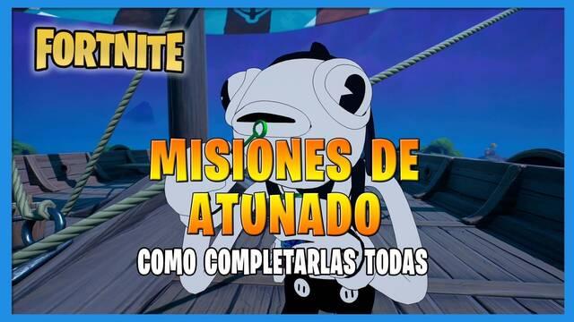 Fortnite T8: TODAS las misiones de Atunado y cómo completarlas