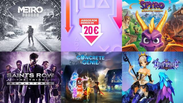 Ofertas PS Store juegos por menos de 20 euros