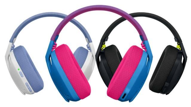 Así son los nuevos auriculares gaming inalámbricos Logitech G435.