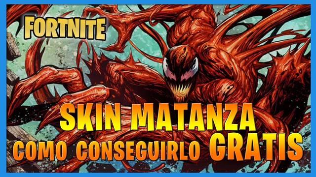 Fortnite T8: Cómo conseguir el skin Matanza (Spider-Man) GRATIS