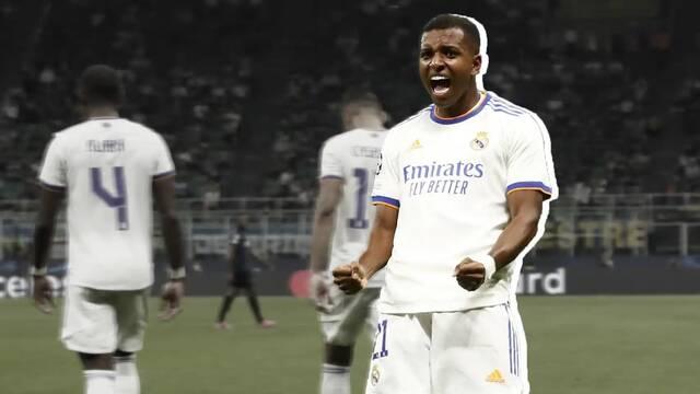 El gol de Rodrygo al Inter recreado en FIFA 21