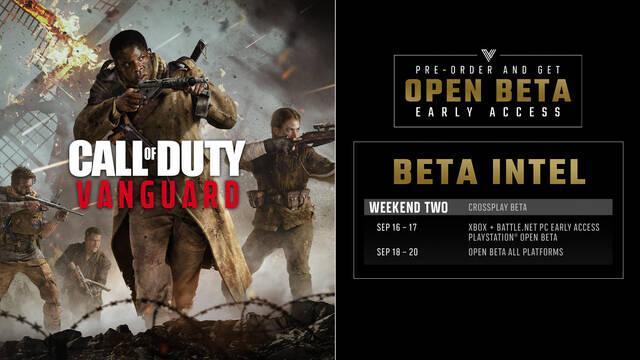 Cómo acceder a la beta de Call of Duty: Vanguard desde cualquier plataforma.