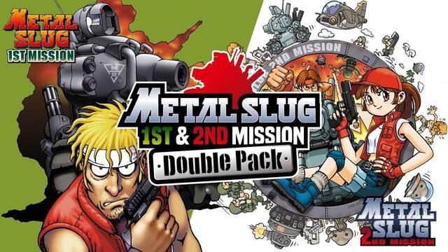 Metal Slug 1st & 2nd Mission Double Pack en Switch