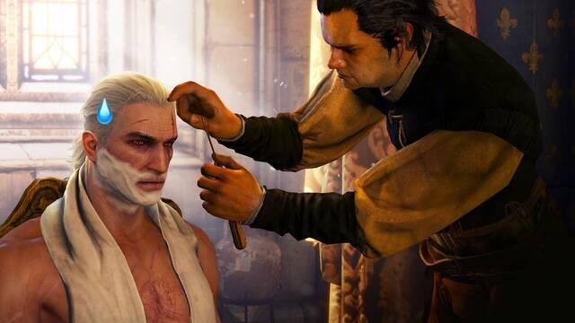 The Witcher 3 y el bug del pelo de Geralt