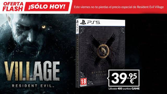 Resident Evil: Village edición steelbook para PS5 a 39,95 € sólo hoy en Game España