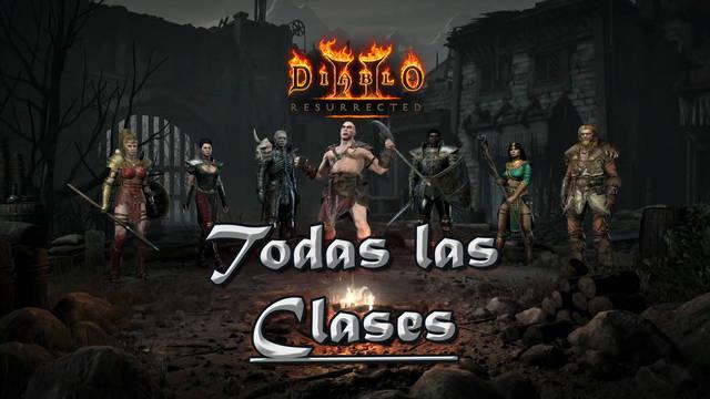 Diablo 2 Resurrected: Todas las Clases de personajes, diferencias y detalles