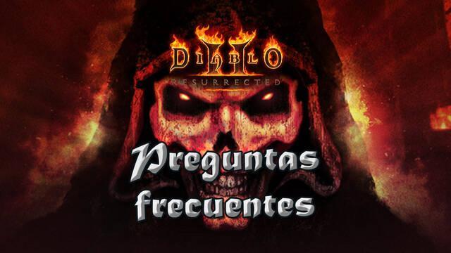 Preguntas frecuentes en Diablo 2: Resurrected